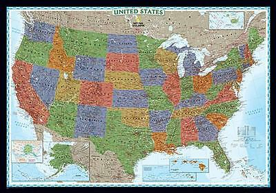 United States Decorator [Laminated] by / [Map]
