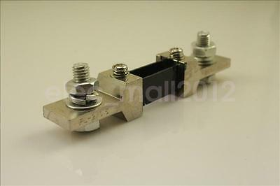 200A 75mV Shunt DC Current Shunt Resistor for 200A AMP Panel Meter Ammeter