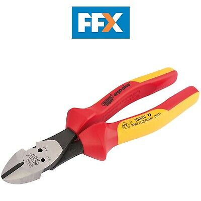 Draper 16211 VDE Diagonal Side Cutters with Integrated Pattress Shears