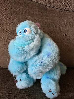 """7"""" Sully Sulley Disney Pixar Monsters Inc Soft Plush Toy Disney Store Collectabl"""