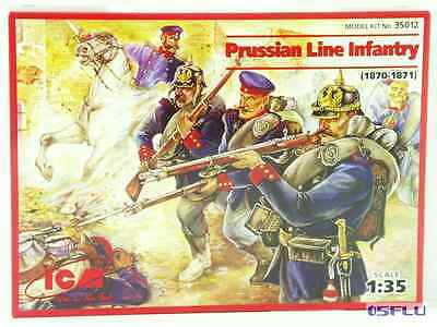 ICM 1:35 35012 Prussian Line Infantry French-Prussian War (1870-1871) - NEU!