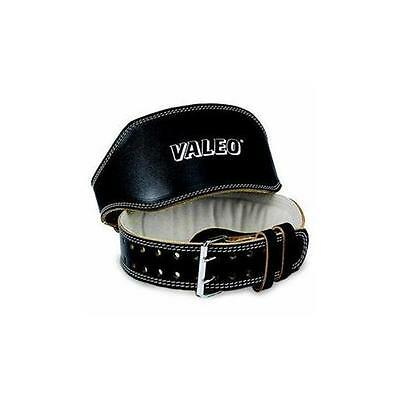 NEW Valeo VA4686LG Leather Lifting Belt- Black Waist Belt 4in Blk Blt Lrg