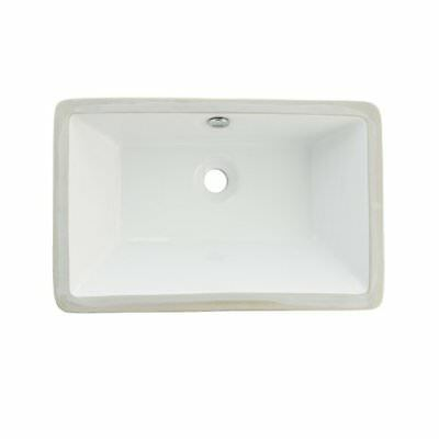 Kingston Brass Castillo Rectangular Undermount Bathroom Sink