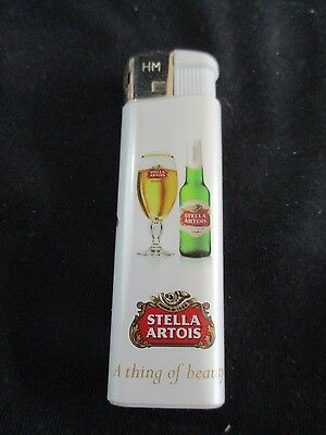 Stella Artois: An Advertising  Lighter  With Logo.  Or336