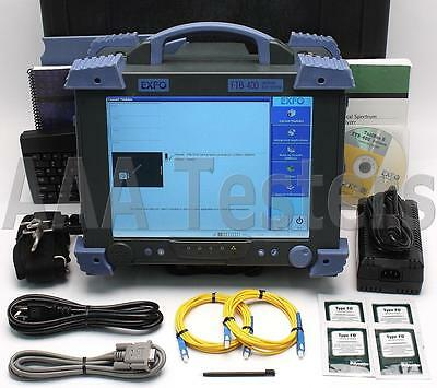 EXFO FTB-400 FTB-5240 Fiber Optic Spectrum Analyzer FTB5240 FTB400 OSA