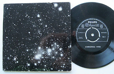 "7"" Philips Weihnachten / Christmas 1958 - Glocken / Bells of Bethlehem Jerusalem"