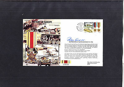 1995 Victory in Europe signed cover