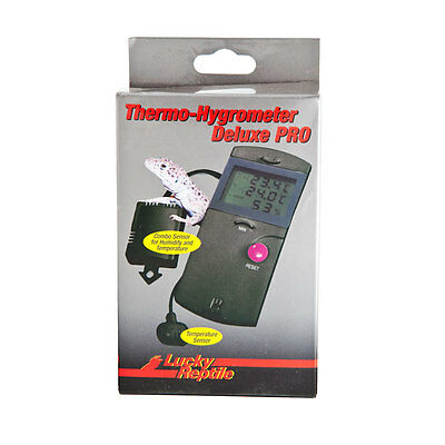 Lucky Reptile Thermometer Hygrometer Deluxe Pro LTH-34