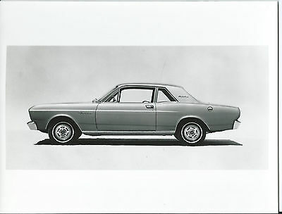 Ford Falcon 1966 Original Press Photograph With Notes on the Rear