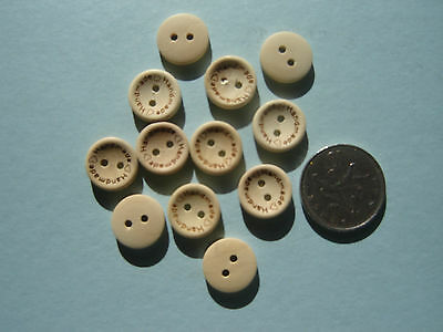 10 25 20 15mm Handmade Wooden Buttons Craft Gift Personalised Wedding Card