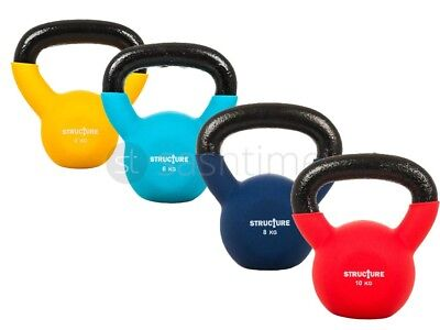 New 4 6 8 10Kg Kettlebell Kettle Bell Weight Exercise Strength Gym Training Home