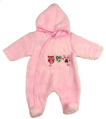 Babies Light Weight Snowsuit Outwear NB 0-3M 3-6M Ideal For Car Seats
