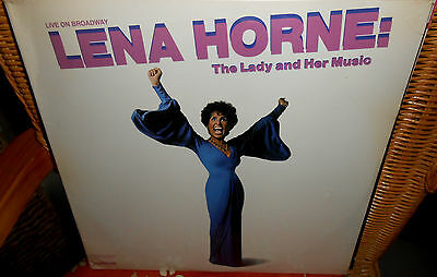 "2 LP's  LENA HORNE - THE LADY AND HER MUSIC  "" Live On Broadway ""  FOC   Sealed"