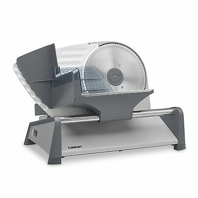 Cuisinart FS-75 Kitchen Pro Food Slicer Gray Cuisinart Food Slicer New