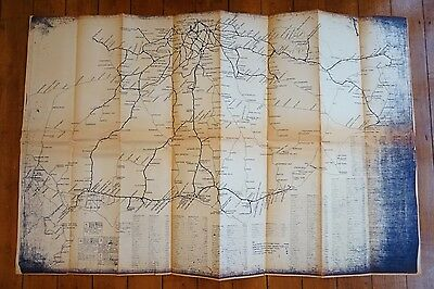 Map of Electrified Lines Southern Region System Railway Map