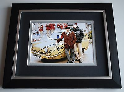 David Jason SIGNED 10x8 FRAMED Photo Autograph Display Only Fools & Horses COA