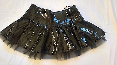 Ann Summers PVC Tu Tu Mini Skirt -  Size 10 - EXCELLENT CONDITION!!!