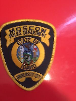 Moscow Idaho  Police  Shoulder Patch