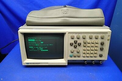 HP 1631D LOGIC ANALYZER w/ 5 PROBES