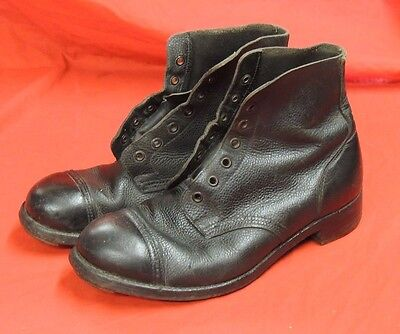 British Army Vintage Boots Size 8M Identical To Ww2 Issue& 63 Years Old!