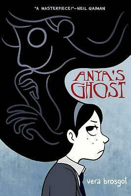 Anya's Ghost by Vera Brosgol (English) Paperback Book Free Shipping!
