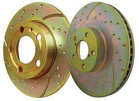 EBC SPORTS BRAKE DISCS FRONT GD1111 TO FIT MG ZR160 1.8i 2001 - 2005