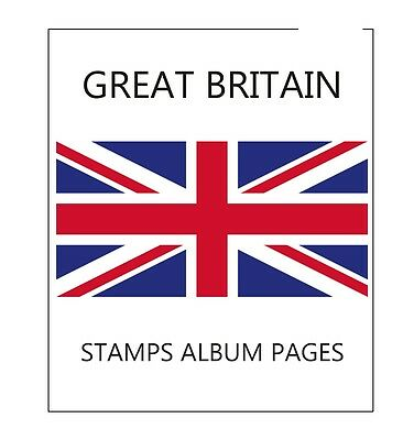 Stamps-Album-Pages-Great-Britain-2015-Complete-Year-Pdf Printable File
