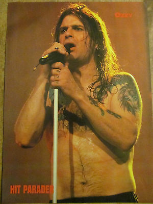 Ozzy Osbourne, Full Page Pinup
