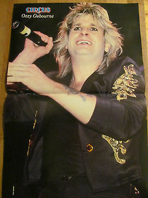 Ozzy Osbourne, Two Page Centerfold Poster