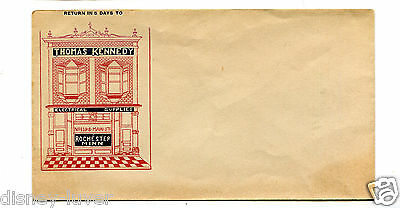 Advertising Envelope THOMAS KENNEDY ELECTRICAL SUPPLIES Rochester MN color ink