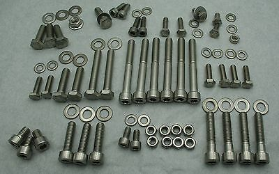 VW Golf Jetta Mk2 8v Stainless steel complete engine bolt kit over 80pcs