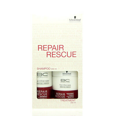 Schwarzkopf BC Bonacure Repair Rescue Set Shampoo 250 ml + Kur Treatment 200 ml