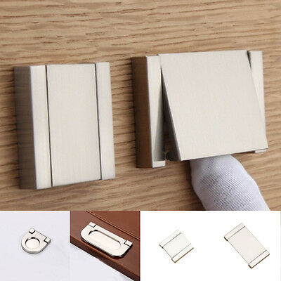 Kitchen Cabinet Invisible Flat Handle Pull Knob Door Cupboard Drawer Handles 1Pc