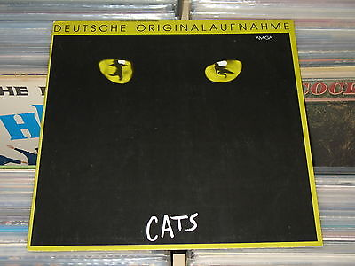 Cats - LP (VG+) Amiga / Cover Fehldruck mit polydor-Nr. 817 365-1 - siehe Foto
