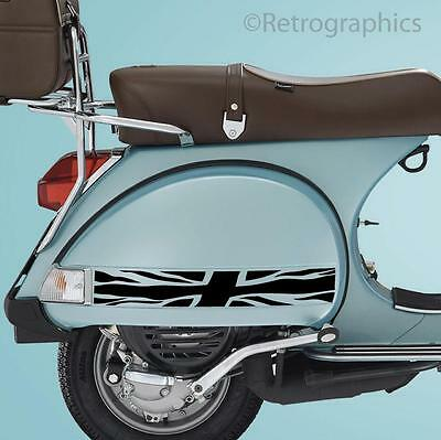 Vespa PX Union Jack Side Panel Stickers for Vespa PX & LML Scooters