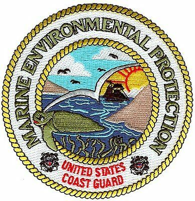 Marine Environmental Protection turtle KR316P USCG Coast Guard patch