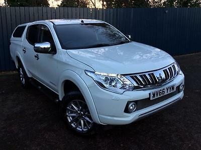 2016 Mitsubishi L200 2.4 DI-D Barbarian Double Cab 4dr Manual Pickup