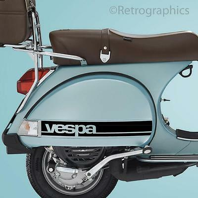 VESPA Side Panels Sticker Set Fits Vespa PX & LML Scooter Side Panels Only