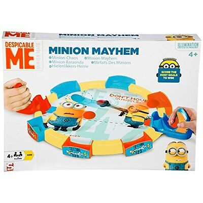 Despicable Me Minion Mayhem Air Hockey 2 Player Childrens Kids Playset