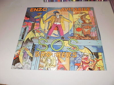 Enzo Avitabile - S.o.s. Brothers - Cover Andrea Pazienza - Lp Made In Spain 1986