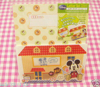 Disney Mickey Minnie Mouse Letter Set / Made in Japan DAISO Stationery