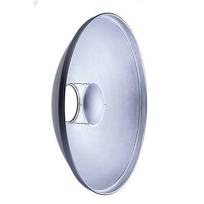 """Glow 28"""" Silver Beauty Dish for Flashpoint Mount #GLBD28SFP"""