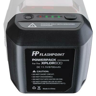 Flashpoint Battery Power Pack Unit for the XPLOR 600 Series Monolight #FPPPX600