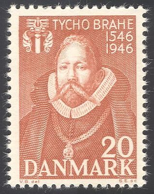 Denmark 1946 Tycho Brahe/Astronomy/Science/Stars/Space/People 1v (n34060)