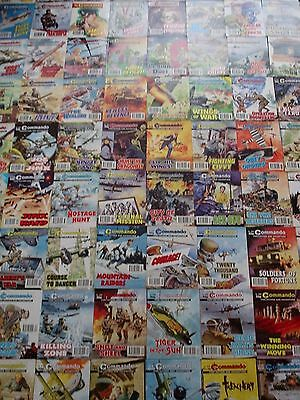 80 X Commando War Stories In Pictures,war Comics,job Lot Collection,1991-2012