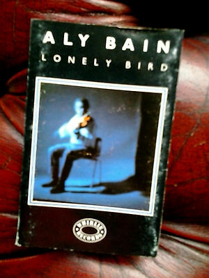 Aly Bain Lonely bird tape signed by Aly