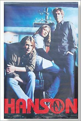 Hanson Early Young Band Pic 2000 Wall Poster New Nos Sealed Band Official