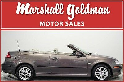 2007 Saab 9-3 Cabriolet 2007 Saab 9-3 Cabriolet in Smoke Beige Metallic only 20,000 miles Auto