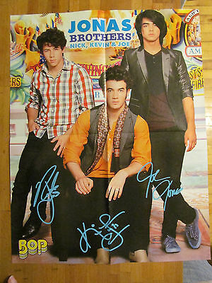The Jonas Brothers, Lucas Till, Double Sided Four Page Foldout Poster
