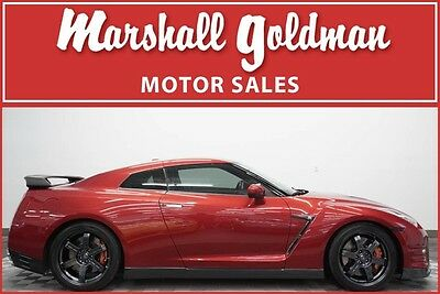 2015 Nissan GT-R  2015 Nissan GT-R Black Edition in Regal Red 4,300 miles